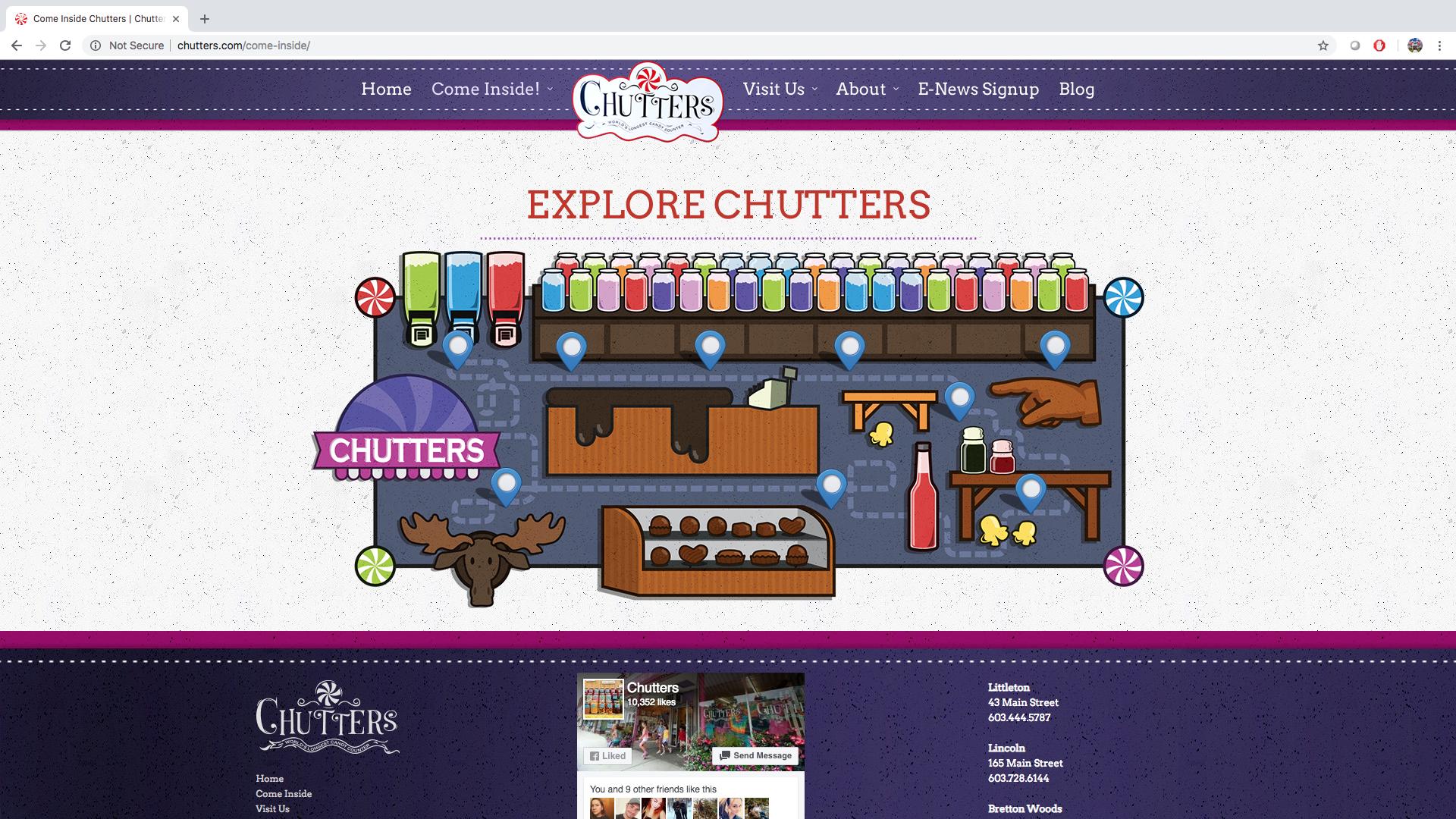 chutters map design